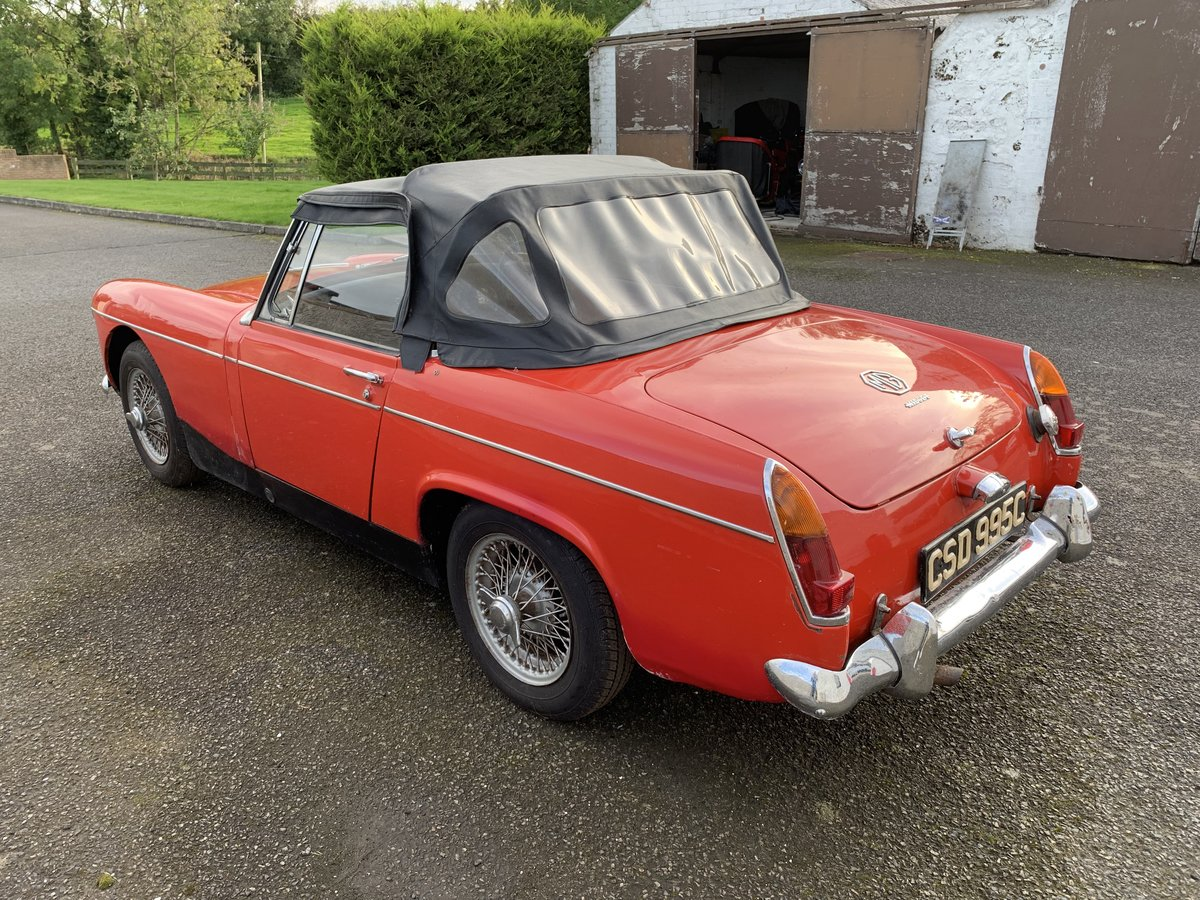 1965 MG Midget only 2 owners 45k miles For Sale (picture 3 of 5)