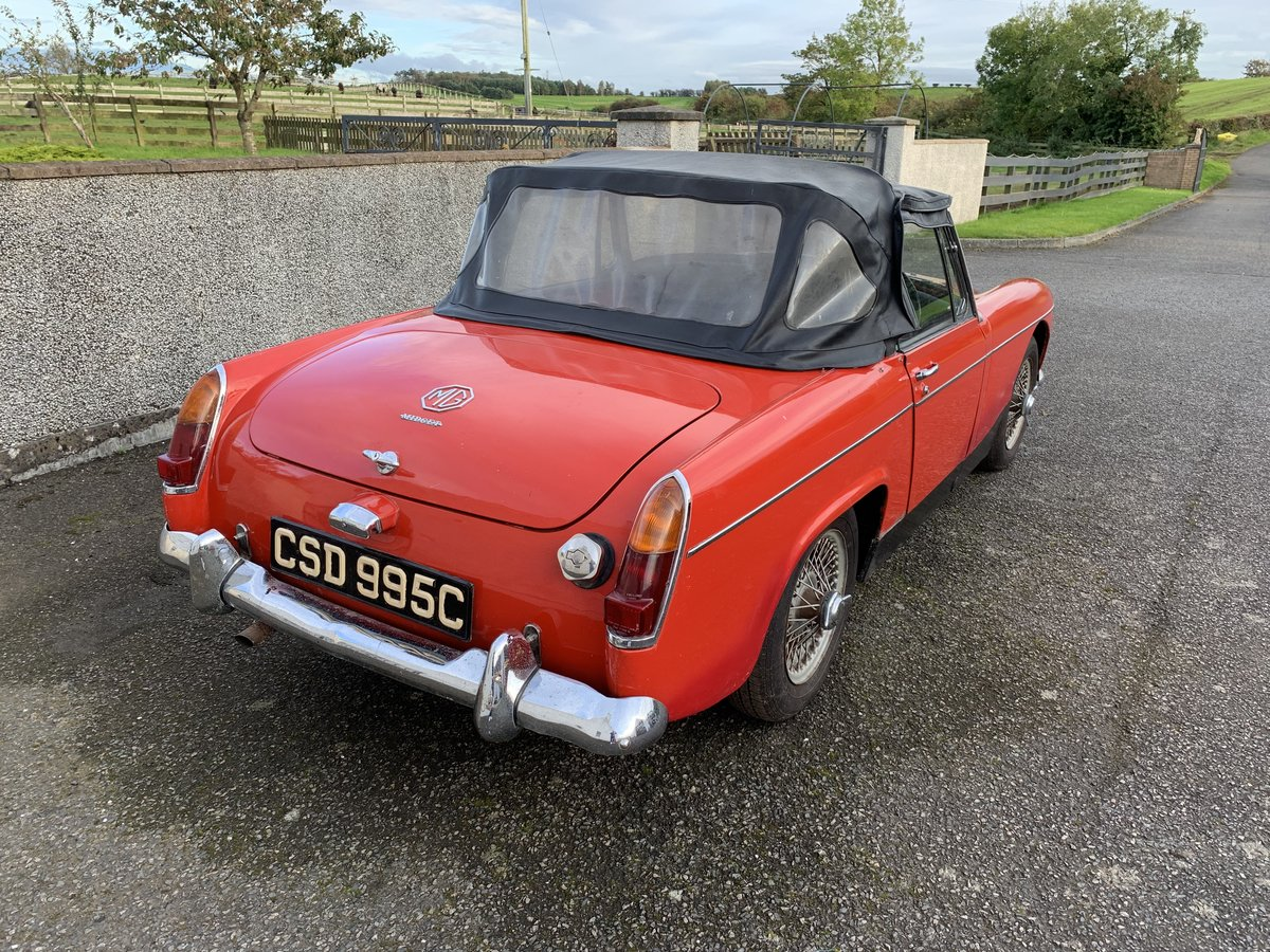 1965 MG Midget only 2 owners 45k miles For Sale (picture 4 of 5)