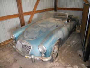 1956 MGA convertible For Sale