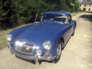 1957 MG A 1500 Coupe