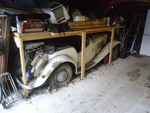1951 MG TD garage find last used 1978 for auction 25th Oct SOLD by Auction