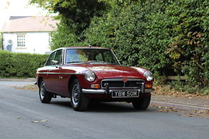 MGB GT V8 - 1st Commissioned
