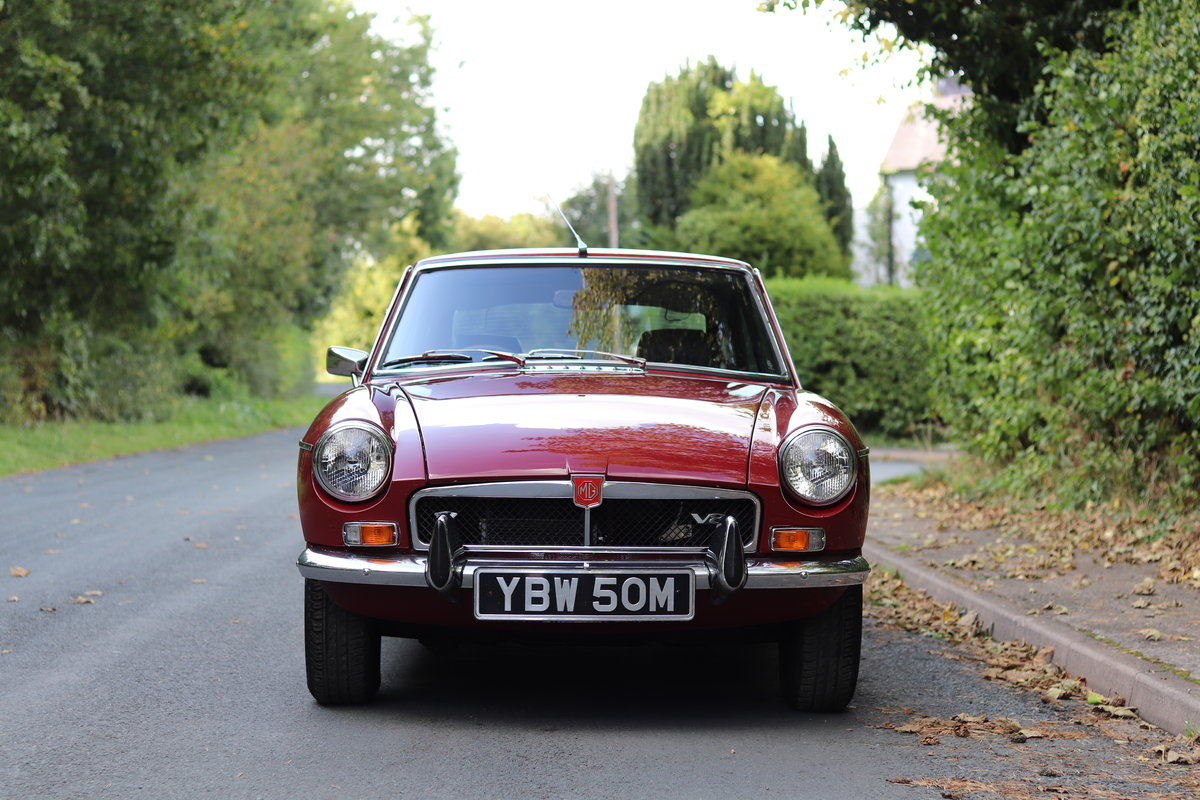 1973 MGB GT V8 - 1st Commissioned For Sale (picture 2 of 19)