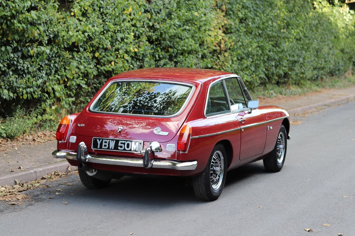 1973 MGB GT V8 - 1st Commissioned For Sale (picture 6 of 19)