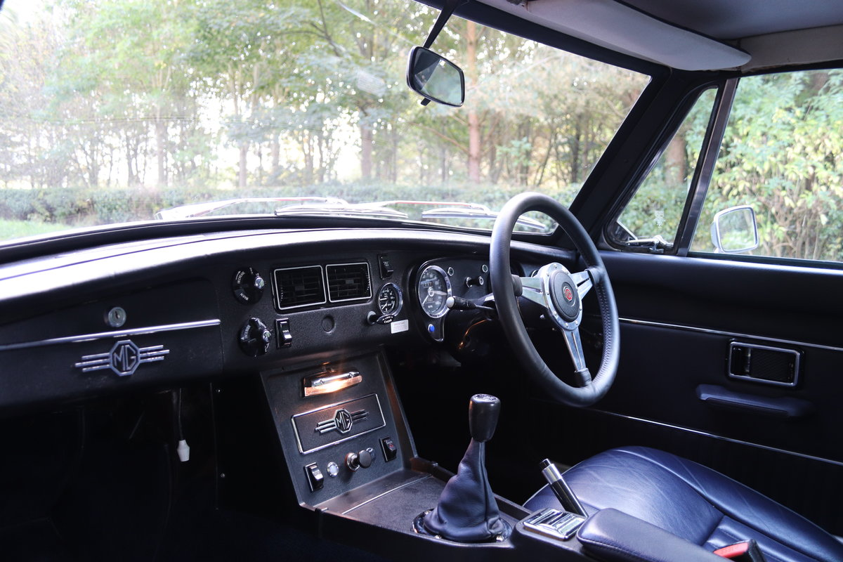 1973 MGB GT V8 - 1st Commissioned For Sale (picture 11 of 19)