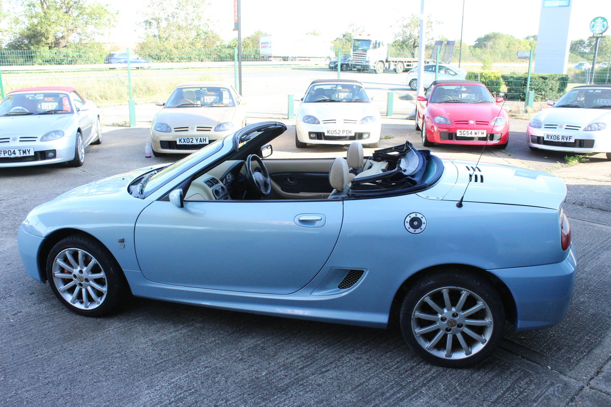 2003 MGTF 160,RARE COLOUR,TAN INTERIOR, 45000 MLS,HEADGASKET SOLD (picture 2 of 6)