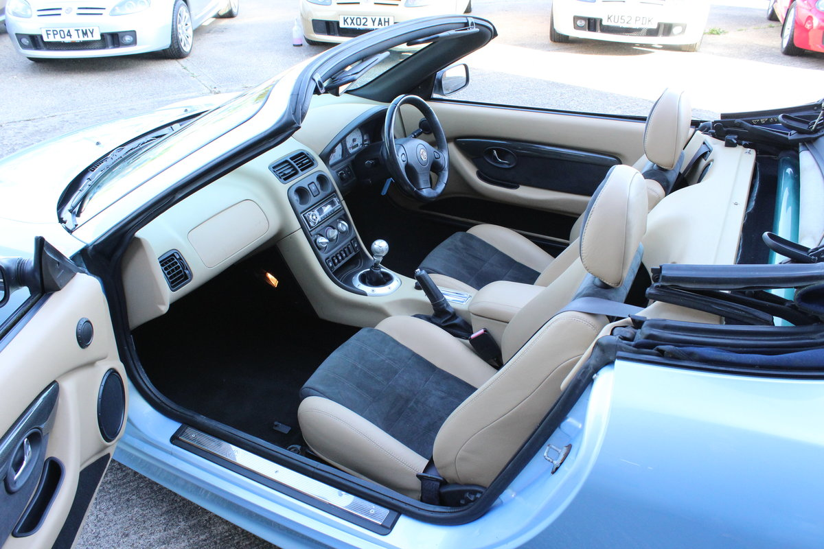 2003 MGTF 160,RARE COLOUR,TAN INTERIOR, 45000 MLS,HEADGASKET SOLD (picture 3 of 6)