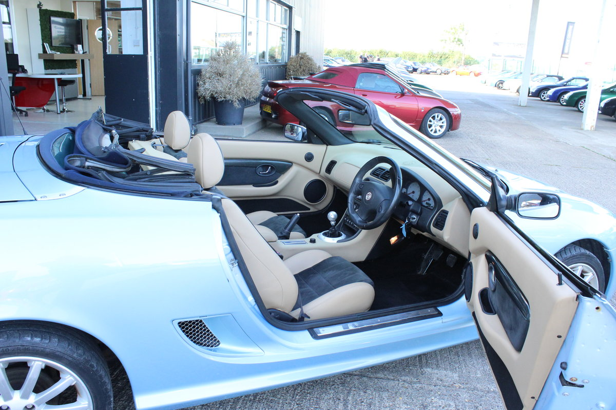 2003 MGTF 160,RARE COLOUR,TAN INTERIOR, 45000 MLS,HEADGASKET SOLD (picture 4 of 6)