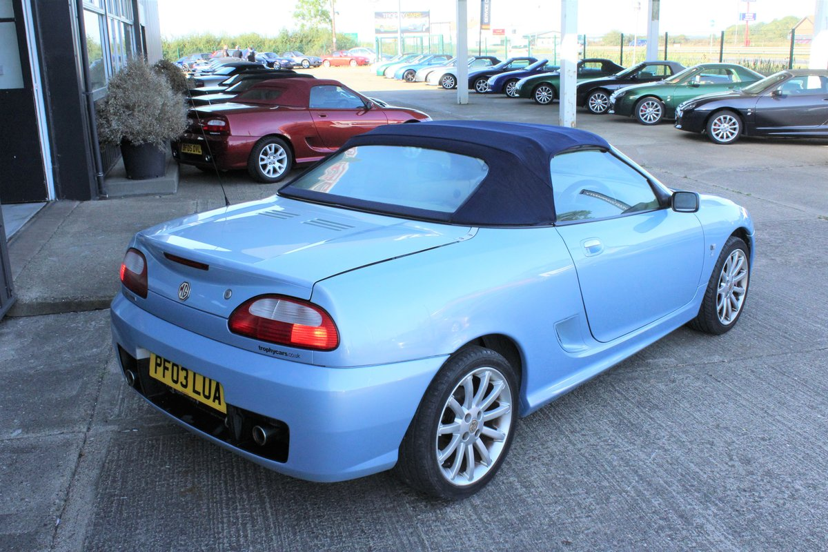 2003 MGTF 160,RARE COLOUR,TAN INTERIOR, 45000 MLS,HEADGASKET SOLD (picture 6 of 6)