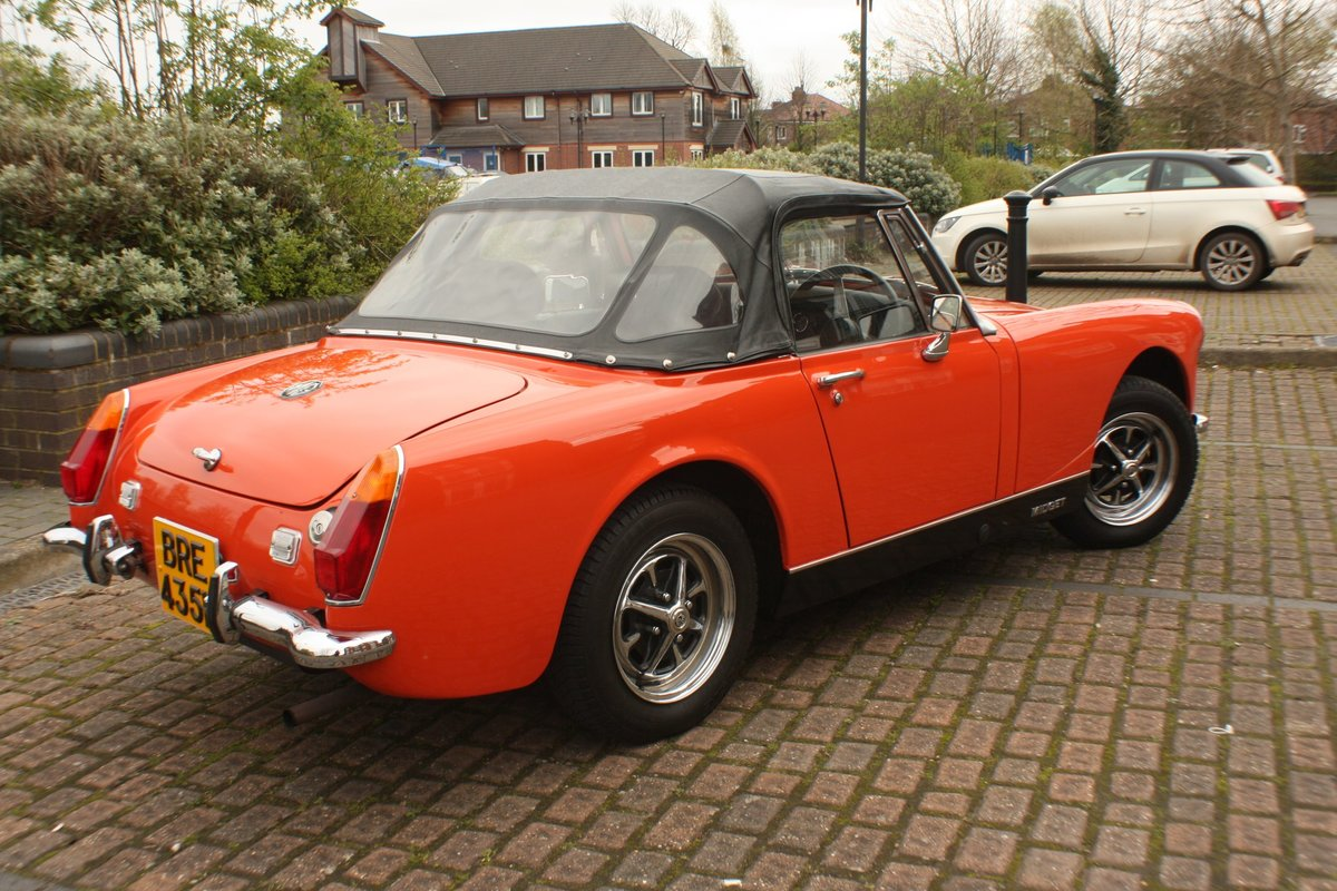 1973 MG Midget RWA MkIV - Heritage Bodyshell Restoration - Blaze For Sale (picture 1 of 6)