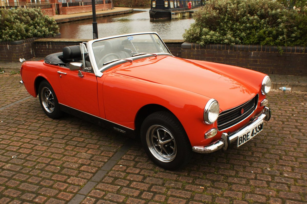 1973 MG Midget RWA MkIV - Heritage Bodyshell Restoration - Blaze For Sale (picture 2 of 6)