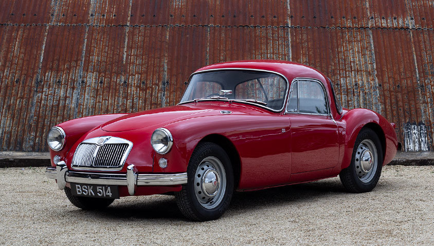 1959 MGA COUPE 1500 For Sale (picture 1 of 6)