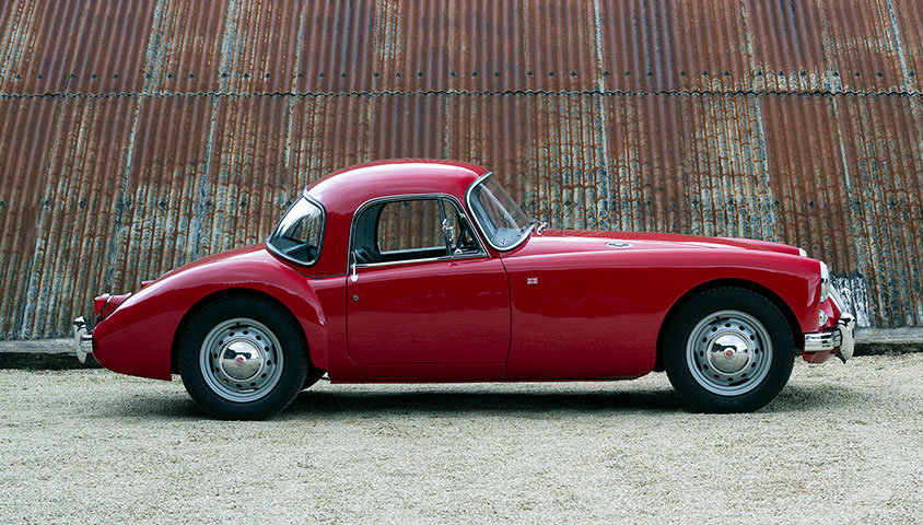 1959 MGA COUPE 1500 For Sale (picture 2 of 6)