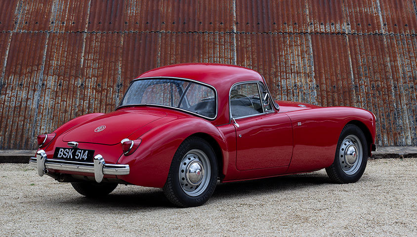 1959 MGA COUPE 1500 For Sale (picture 3 of 6)