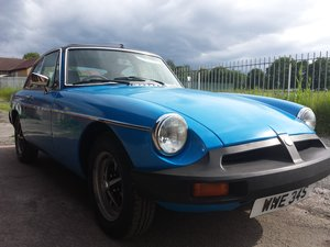 1978 MG-B GT  Pageant Blue
