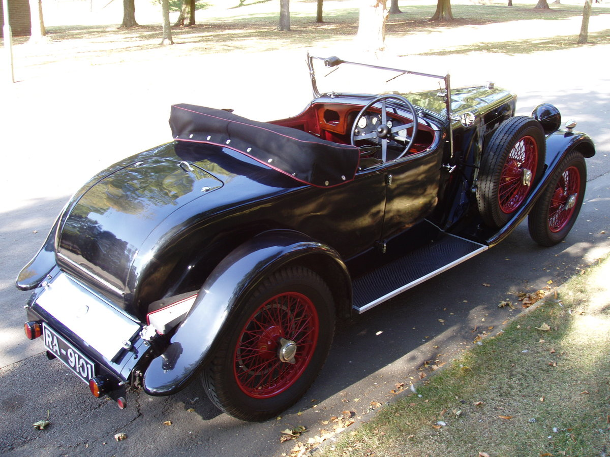 1929 MG 18/80 2-seat tourer and dickey seat For Sale (picture 2 of 6)