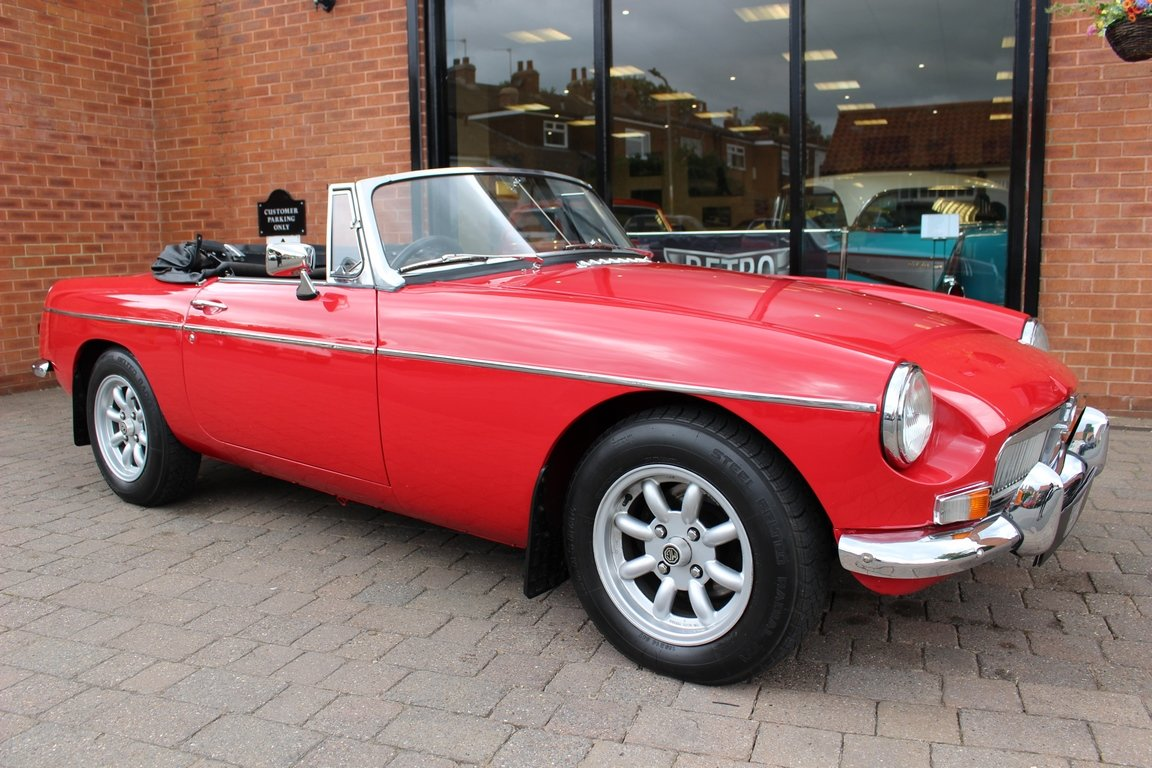 1966 MGB Roadster - Restored | Power Steering SOLD (picture 1 of 6)