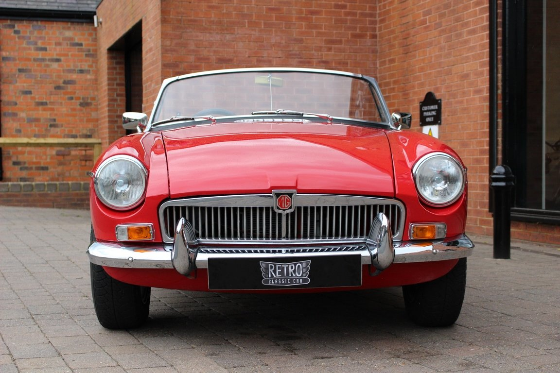 1966 MGB Roadster - Restored | Power Steering SOLD (picture 3 of 6)