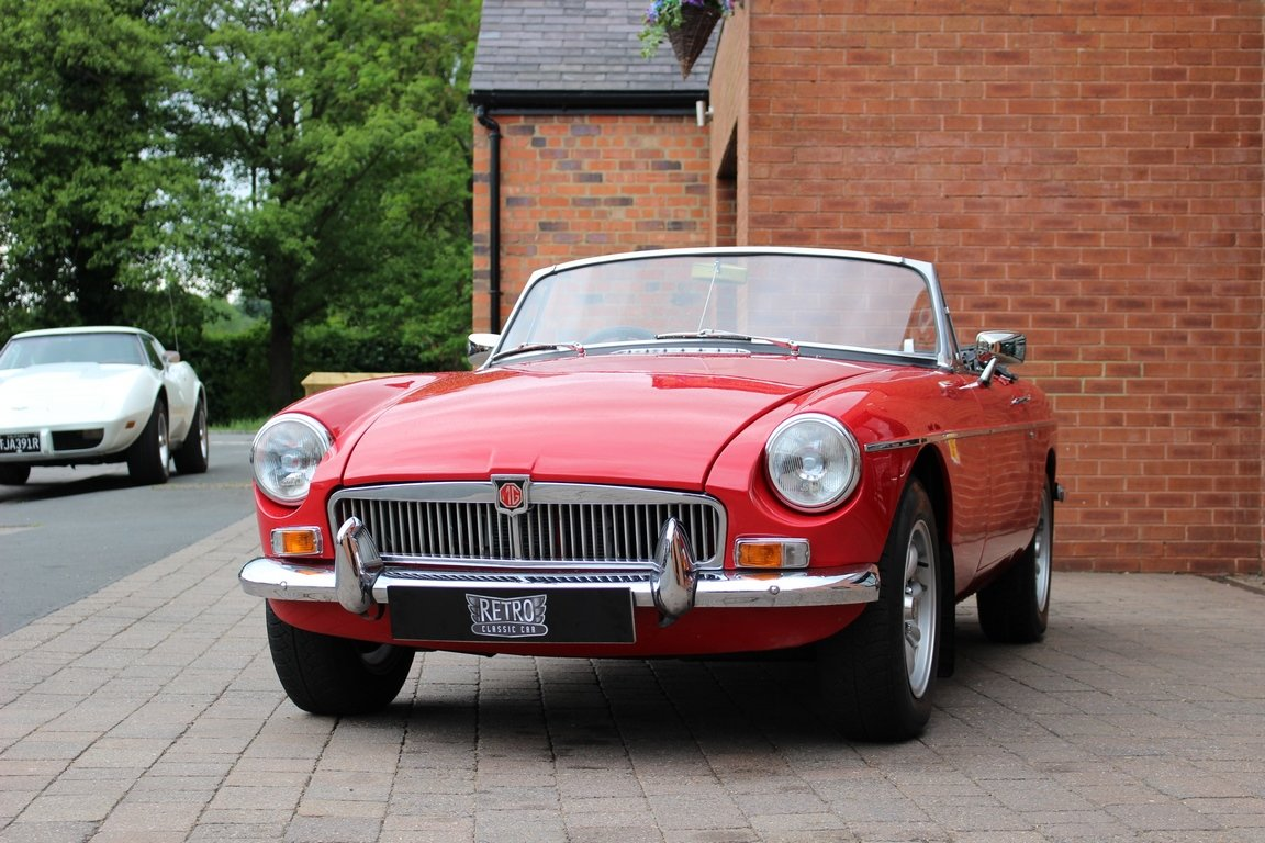 1966 MGB Roadster - Restored | Power Steering SOLD (picture 6 of 6)