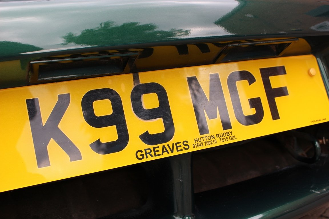 2000 MGF 1800 - British Racing Green | Huge History File For Sale (picture 6 of 6)