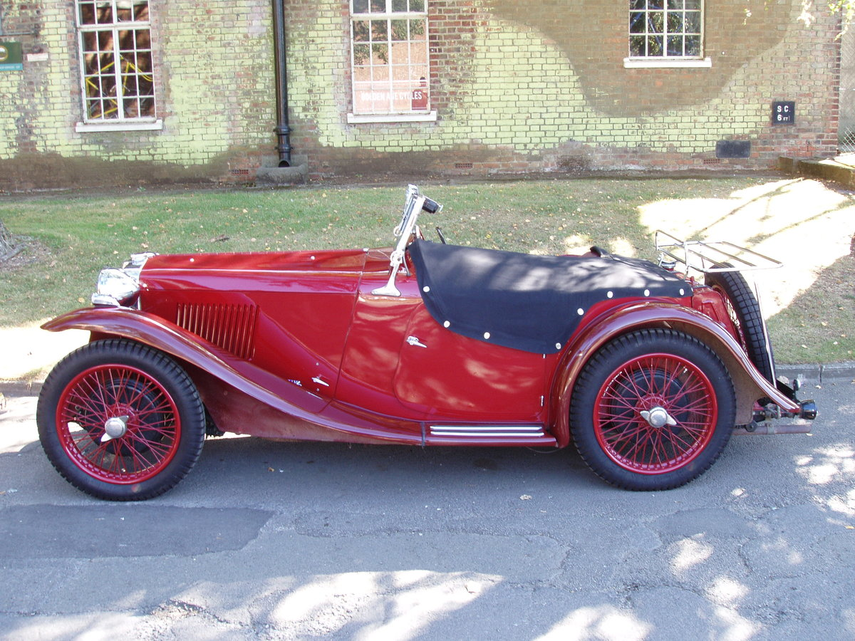 1934 MG PA Midget 2-seat sports For Sale (picture 1 of 6)