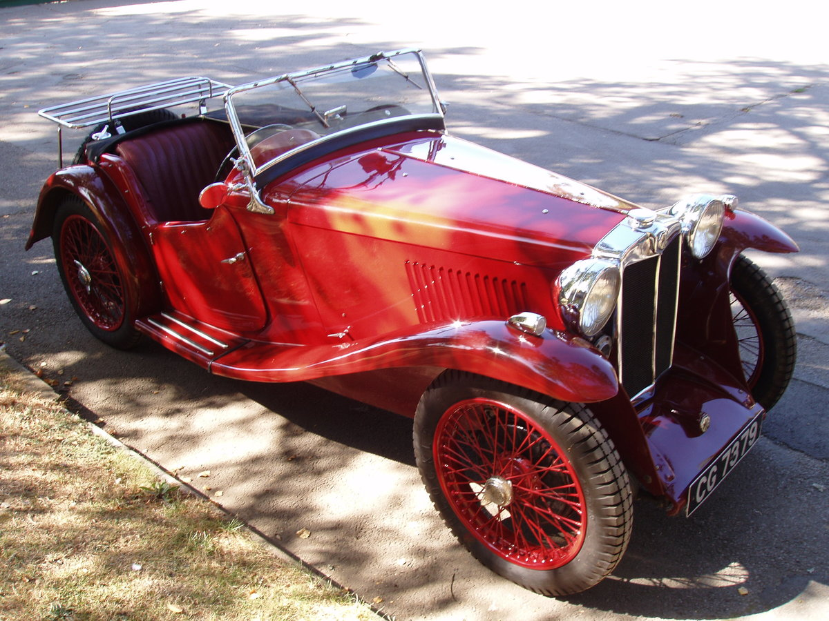 1934 MG PA Midget 2-seat sports For Sale (picture 2 of 6)