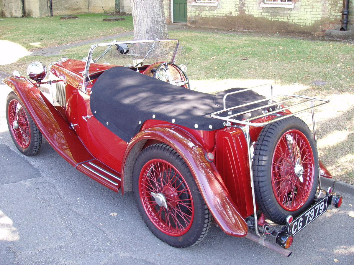 1934 MG PA Midget 2-seat sports For Sale (picture 3 of 6)