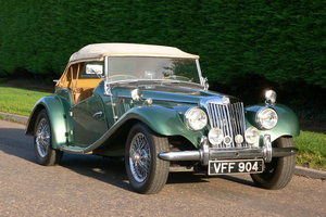 1954 MG TF 1500 For Sale by Auction