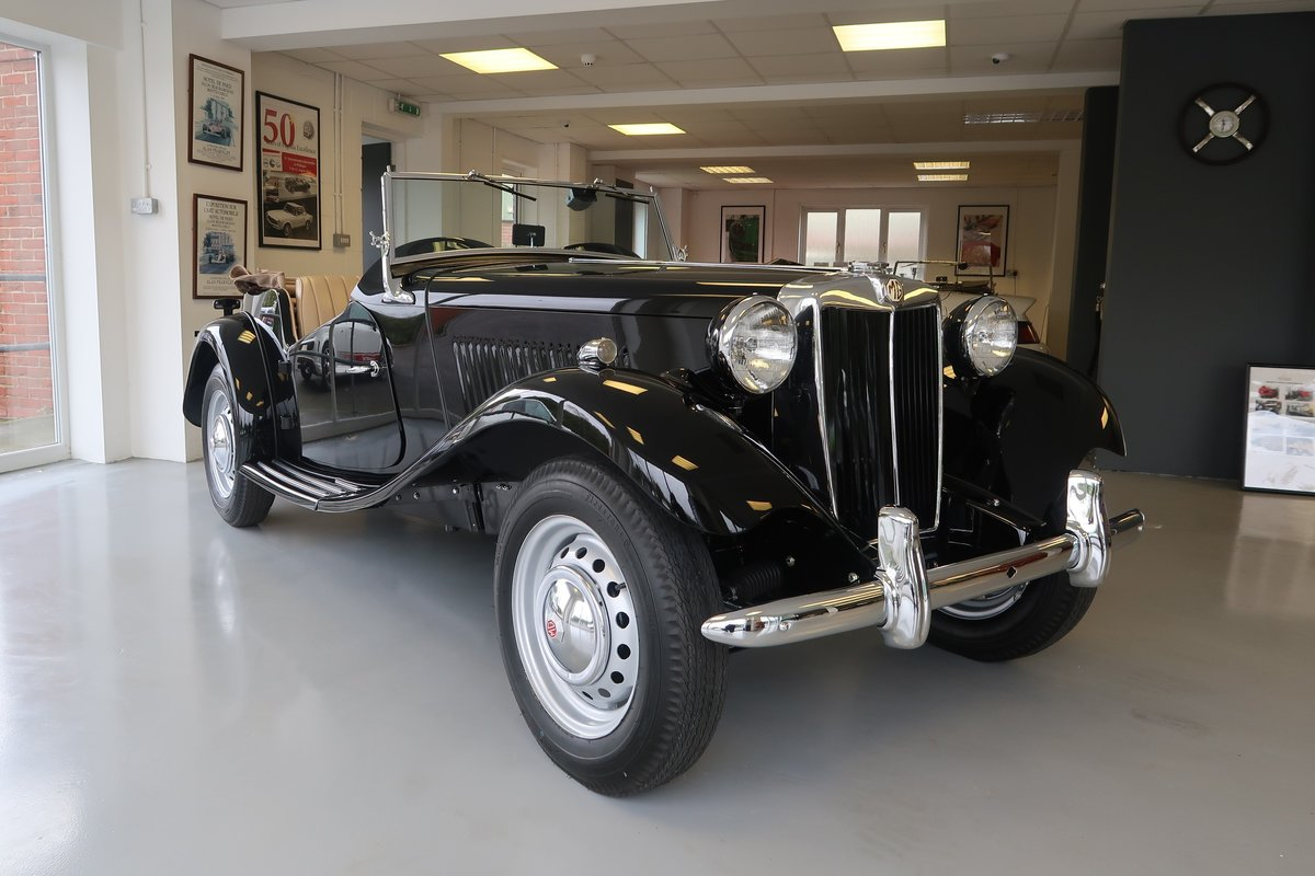 Beautifully Restored 1950 MGTD RHD For Sale For Sale (picture 1 of 6)