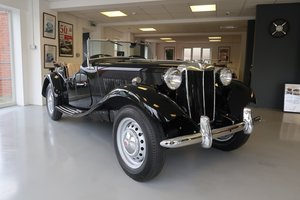 1950 Beautifully Restored MGTD RHD For Sale For Sale