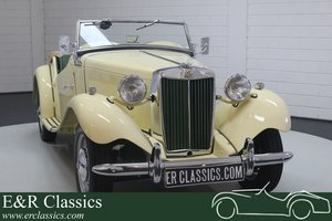 1951 MG TD 1952 Ivory Restored For Sale