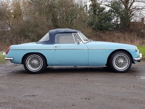 MG B Roadster Mk1, 1964, Iris Blue For Sale