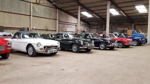 MG B GT, 1970, Selection of 5 available