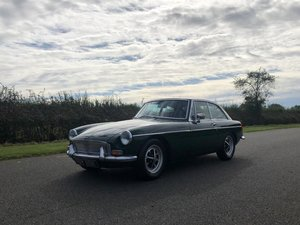 1972 MGB GT Manual / Overdrive SOLD