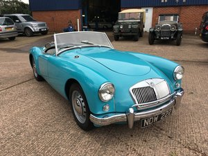 1956 MGA 1500 Roadster, Glacier Blue