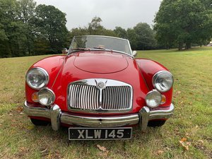 1959 MGA 1600 Deluxe roadster