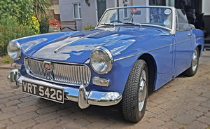MG Midget Fully Restored NOW SOLD MORE REQUIRED