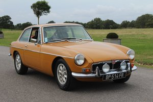 MG B GT 1974 - LAST OF THE CHROME BUMPERS For Sale