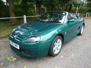 2003 MG TF135, Just 6,920 miles. Lowest mileage/ Best TF for sale For Sale