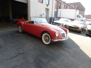 1956 MG A 1500 Roadster Arizona Car For Restoration -