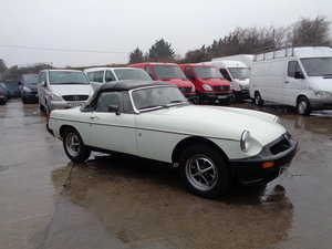 Mgb roadster / convertible | rhd | 1977 model For Sale