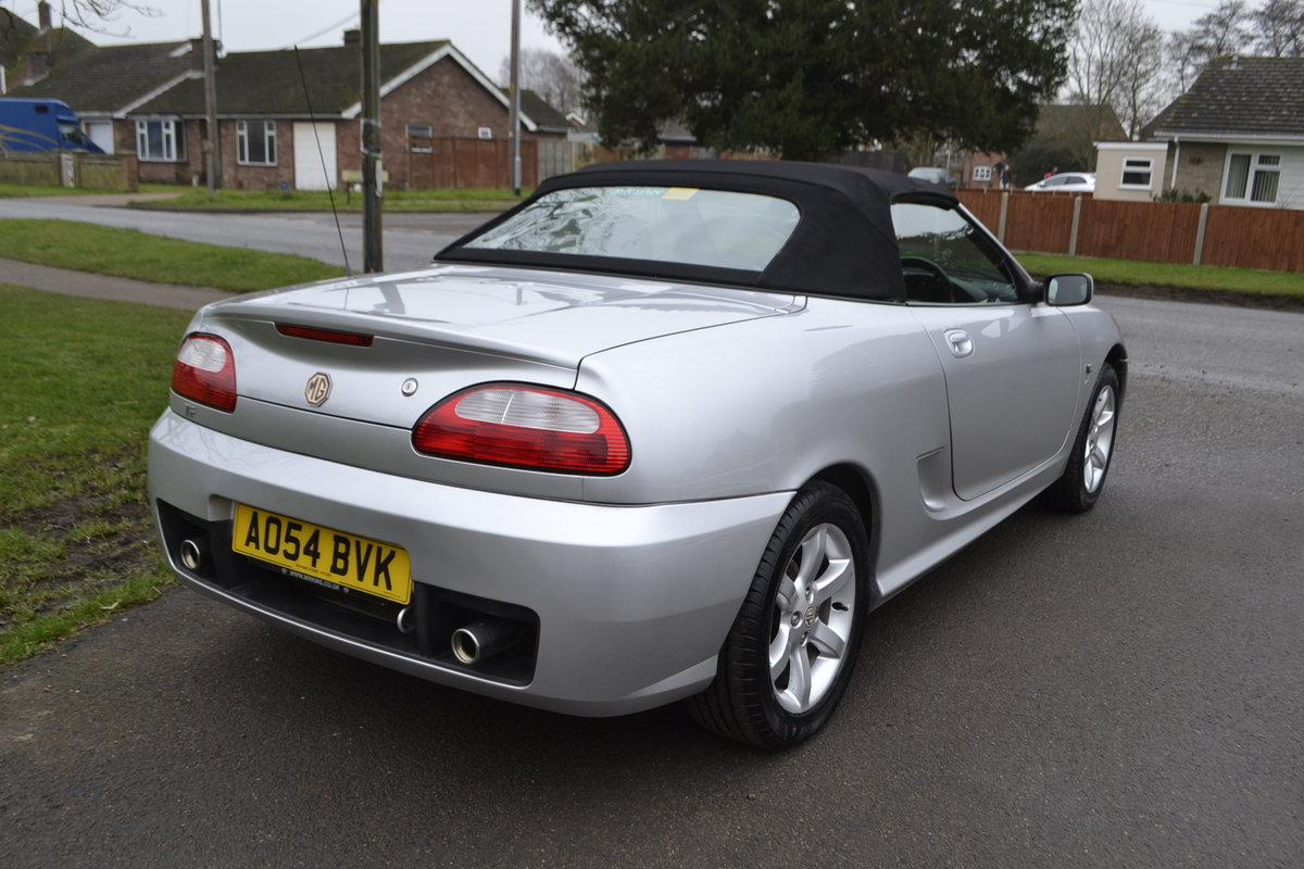 2005 MG TF + hard top (19000 miles) For Sale (picture 14 of 18)