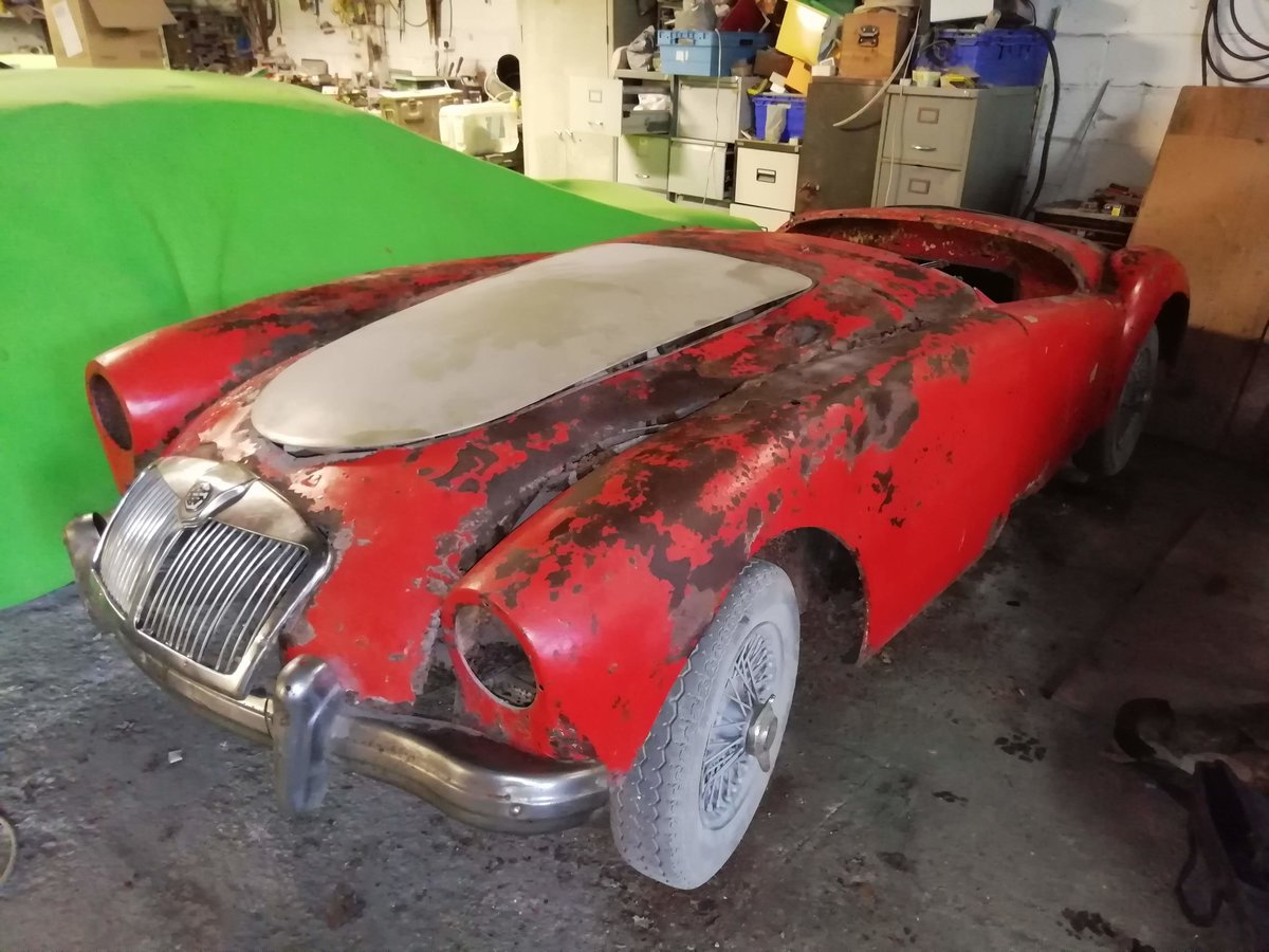 1956 MGA ROADSTER FOR TOTAL RESTORATION For Sale (picture 4 of 6)