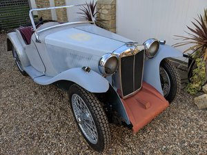 1934  MG PA Restoration Project - Collingburn, Gilbert