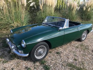 1963 63 MGB Roadster Older restoration on most valuable year For Sale