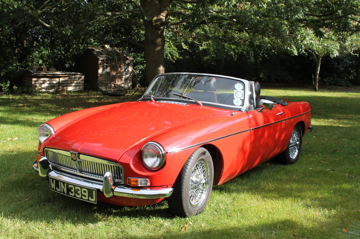 1970 MGB Roadster For Sale (picture 1 of 10)