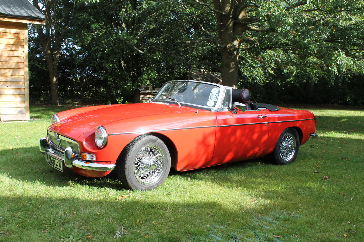 1970 MGB Roadster For Sale (picture 3 of 10)