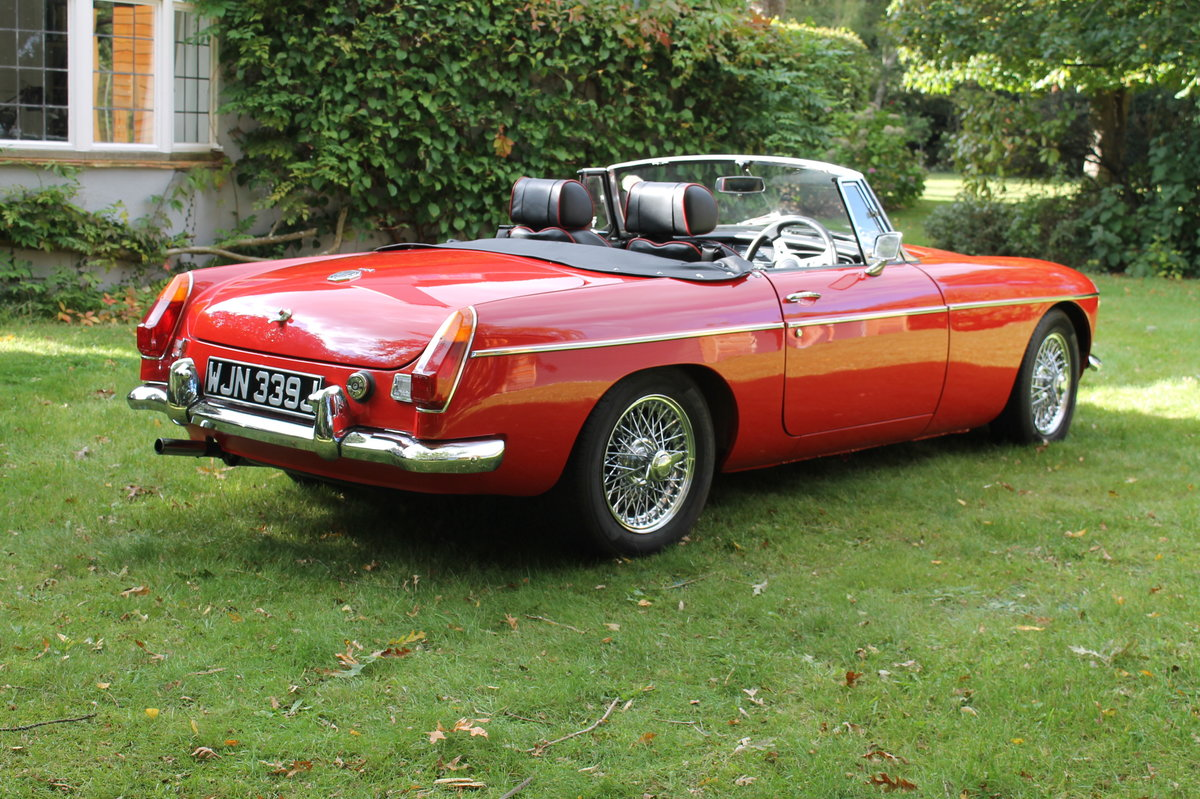 1970 MGB Roadster For Sale (picture 5 of 10)