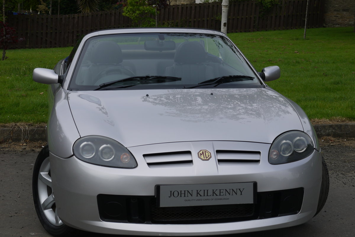 2002 MG TF 1.8 16V 135 ***ONLY 34000 MILES FROM NEW*** 1 OWNER*** For Sale (picture 1 of 6)