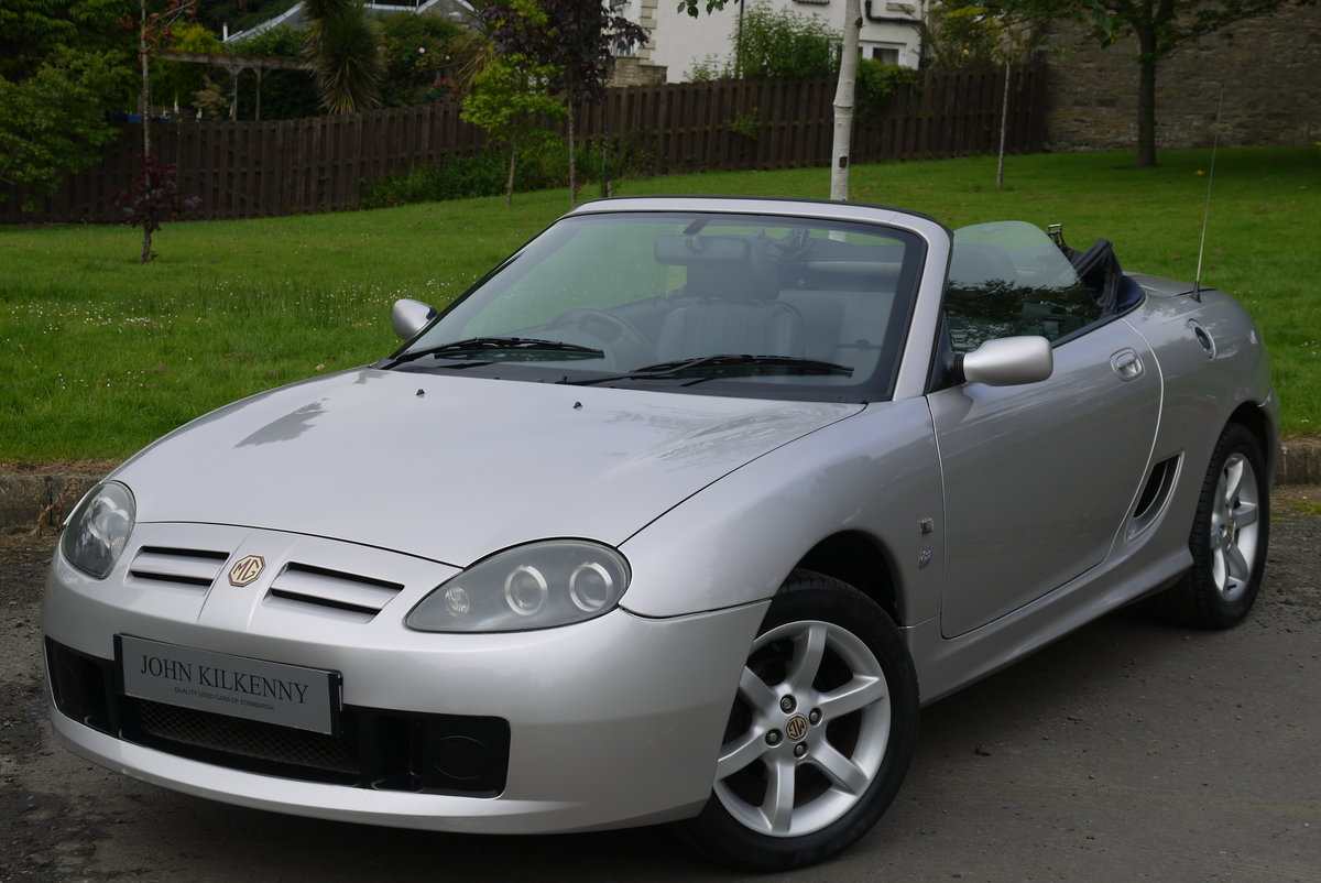 2002 MG TF 1.8 16V 135 ***ONLY 34000 MILES FROM NEW*** 1 OWNER*** For Sale (picture 2 of 6)